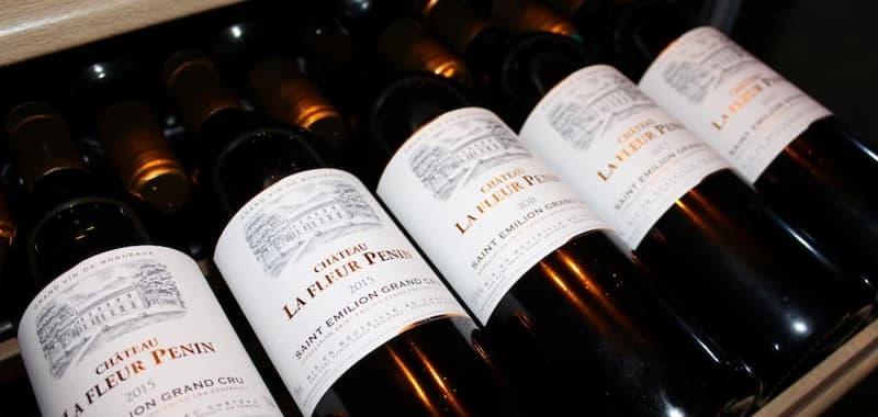 Bouteilles de vin la Fleur Penin